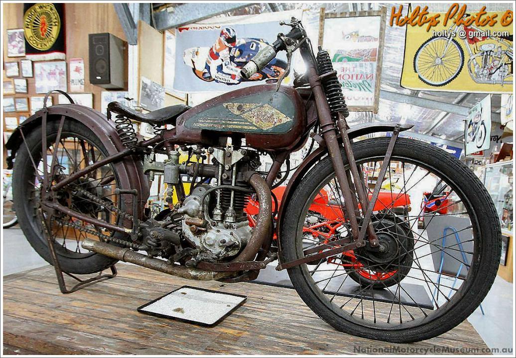 Fast Is Fast Pea Shooter Harleys: Harley Peashooter 1926