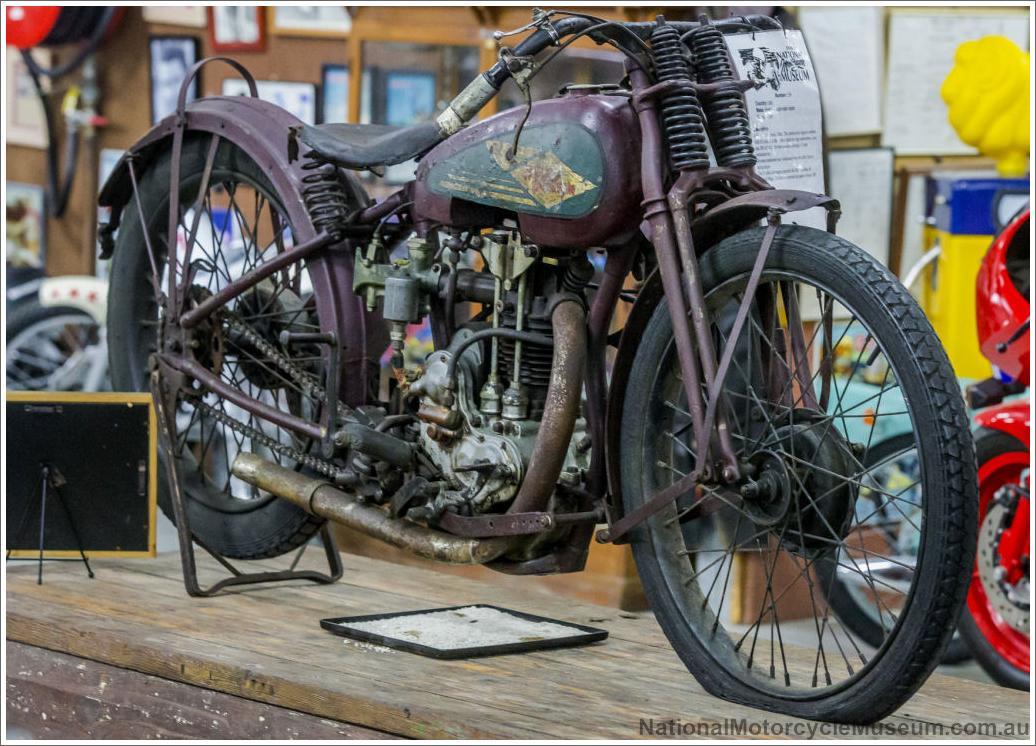 1926 Harley Davidson Peashooter: Harley Peashooter 1926
