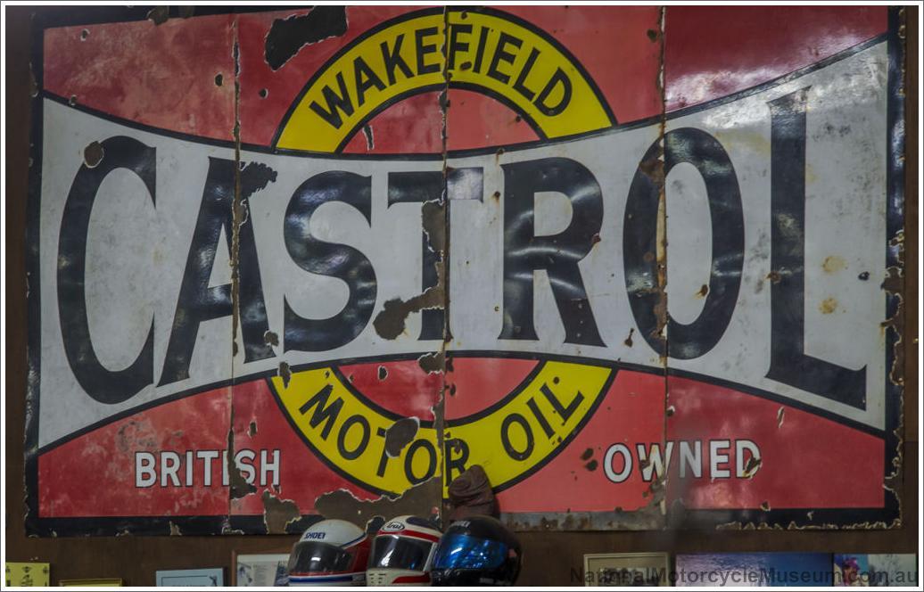 Bell Honda Service >> Castol Wakefield Service Station Sign