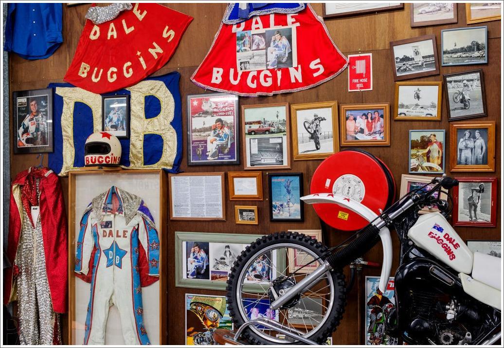 Bell Honda Service >> Dale Buggins Museum Display